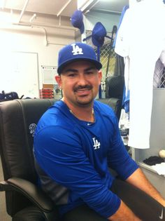 Adrian Gonzales is FINALLY in Dodger blue, and already hitting home runs! :)