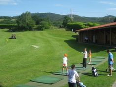 Campo de entrenamiento de Goiburu Golf #golf #goiburu #training