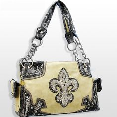 With Rhinestone Buckle Western Purses Handbags Purse - kootation.com