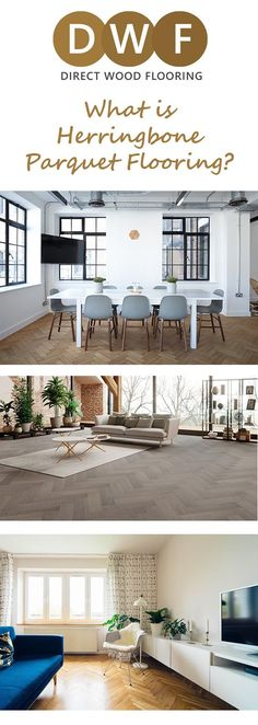 What is Herringbone Parquet flooring? It's one of the most popular trends around at the moment, but how much do you know about this flawless style we've all grown to love? Read up about it on the Direct Wood Flooring blog https://www.directwoodflooring.co.uk/dwfblog/herringbone-parquet-flooring/ #DirectWoodFlooring #DWF #WoodFlooring #EngineeredWoodFlooring #SolidWoodFlooring #LaminateFlooring #Laminate #Flooring #HerringboneParquet #ParquetFlooring