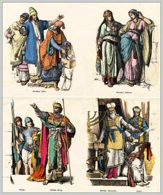 Jewish Clothing Archive - Costumes and fashions of the centuries. The cultural history of clothing and manners.