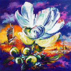 ~ Scent of dreams ~ Acrylic on canvas 2015 Artist Mikko Tyllinen Acrylic Colors, Art Tips, Soft Colors, Presentation, Animation, Deviantart, Dreams, Make It Yourself, Canvas