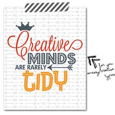 Free Creative Minds... Printable