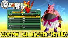 Dragon Ball Xenoverse: Majin Race, Clothing, Advanced Customization Opti...
