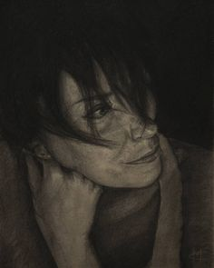 """""my love again"" #charcoalportrait #charcoal #sketch #instaart #portrait #schizzo #disegno #illustration #fineart #drawing #art #charcoalpencil #instaart…"""