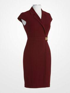 004920d9858 Calvin Klein Burgundy Dress  49.99  red  designer  deal  weartowork  womens