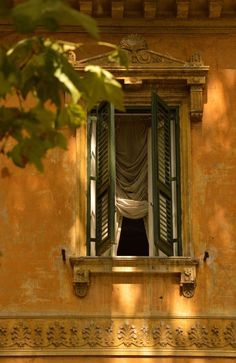 Where does one begin to start when discussing Italy. Well, if you intend to travel there, Rome and Venice are good places to start. Old Windows, Windows And Doors, Rome Antique, Italian Village, Window View, Through The Window, Italy Vacation, Mellow Yellow, Architecture Details