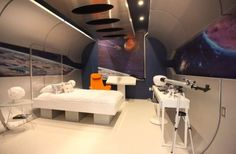 Contemporary bedroom that is all about journey into the unknown! by Bayless Custom Homes