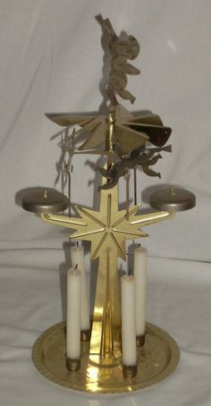 Candle Chimes Carousel - Bing Bing Video, Carousel, Candle Holders, Candles, Porta Velas, Candy, Carousels, Candle Sticks, Candlesticks