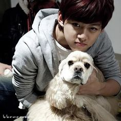 It has just recently been reported that our Baby from U-Kiss, Dongho has been sent to the emergency room. Cutest Puppy Ever, U Kiss, Korean Group, Korean Drama, Korean Music, Asian Boys, Kpop Boy, Bigbang, Boy Bands