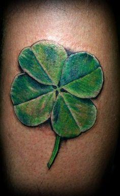 Grab your hot tattoo designs. Get access to thousands of tattoo designs and tattoo photos Four Leaf Clover Tattoo, Clover Tattoos, Leaf Tattoos, Body Art Tattoos, Sleeve Tattoos, Lady Bug Tattoo, Irish Tattoos, Celtic Tattoos, Tattoo Symbols