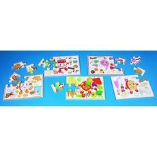These wooden puzzles help children learn about #nutrition and food #labelling. The set #contains 5 #assorted food groups together with resource sheets to #demonstrate the #importance of healthy eating for children. Each jigsaw includes a full colour poster. #british #england #derby #madeinengland #madeinbritain