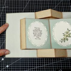 Pop up book cards are display cards that are best viewed when find this pin and more on do it yourself by scrappinmoma beccys place tutorial pop up book card solutioingenieria Choice Image