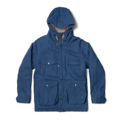 Northfield Parka, Stonewashed Indigo – Bivouac Shop