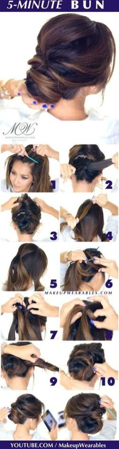 Excellent And Super Easy Updos For Long Hair Inspirations 233