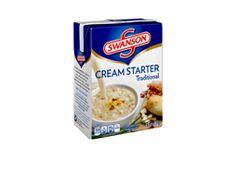 Swanson®'s New Traditional Cream Starter™ 26.1 oz. carton