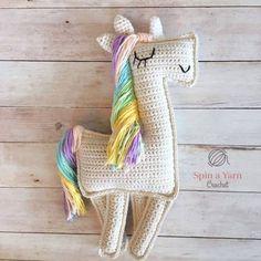 Ragdoll Unicorn Pattern