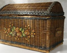 basket - Vintage – Etsy RU