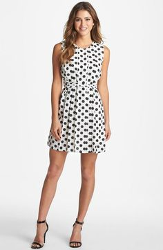 Every girl needs a classic polka dot dress.