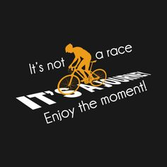 It's not a race. Enjoy the moment!