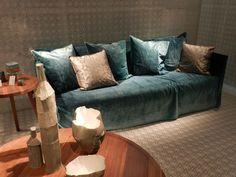Ghost sofa - Gervasoni, Mailänder Designwoche 2013. www.misterdesign.de