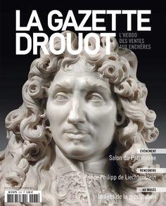 Gazette Drouot n°37 du 30/10/2015. #Sculpture #Marbre #White #Black #Colbert #LouisXIV #ArtMarket #Webzine