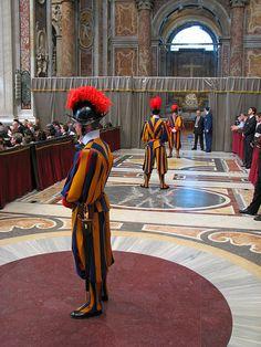 St. Peter's Basilica - Swiss Guards