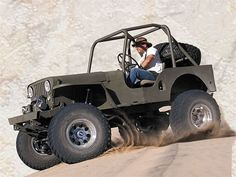 154 0604 01 Fullsized Trucks Most Influential - Photo 9538493 - The Most Influential Vehicles - Part 2 Old Jeep, Jeep Tj, Jeep Truck, Truck Camper, Jeep Wrangler, Jacked Up Trucks, Cool Trucks, 4x4 Tires, Customised Trucks