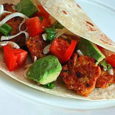Chipotle Squash Tacos - I don't usually do vegetarian, but these look amazing.