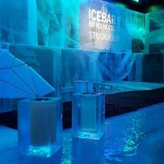 Go to the Icebar in Stockholm
