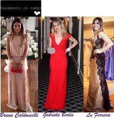 Madrinhas de casamento: Os vestidos de festa das blogueiras