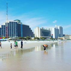Daytona Beach Florida S Downtown Historic Beach Street Is