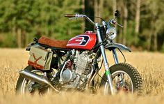 "Honda XR 600 ""Wheel & Waves Tribute"" by Elegant-Apparatus - Lsr Bikes"