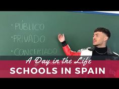 Schools in Spain Vlog Comprehensible Input, Spanish Culture, Class Schedule, Spanish Classroom, School Building, Education System, Do You Know What, Training Courses, Travel And Leisure
