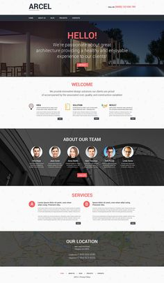 Discover 30 parallax WordPress Themes you can use for your web design projects. These parallax WordPress Themes are packed with professional features. Page Layout Design, Website Design Layout, Website Design Inspiration, Web Layout, Website Designs, Website Themes, Website Ideas, Flat Web Design, Web Design Studio