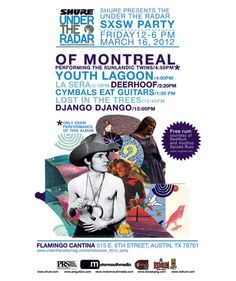 of Montreal to Perform The Sunlandic Twins in its Entirety at Under the Radar's SXSW Party / Friday March 16