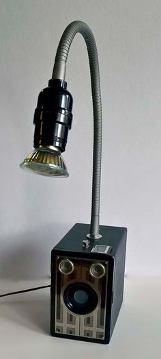 Found Object Steampunk Lamp Recycled Upcycled Vintage By Wedoart, $85.00