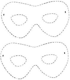Hermosas mascaras para fiestas infantiles de fieltro - Plantillas gratis ★★★★☆ 774 Opiniones - Patrones y Labores You are in the right place about diy carnival games Here we offer you the most beautif Diy Carnival Games, Carnival Costumes, Carnival Ideas, Carnival Tent, Carnival Food, Carnival Makeup, Superhero Mask Template, Masquerade Mask Template, Incredibles Birthday Party