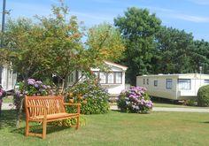 https://www.aroundaboutbritain.co.uk Poplars Caravan & Chalet Park. East Runton. Cromer. Norfolk. England. UK. Travel. Stay. Camping. Holiday. Self Catering. Family. Golf. Coast.