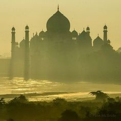 Photo by Pete McBride @pedromcbride // India's legendary mausoleum, the Taj Mahal, looms on the south bank of the Yamuna River, a tributary to the Ganges, which winds 1500 miles across Northern India, draining the Himalaya and supporting 500 million people along its way. I've spent roughly five years traveling this river, trying to understand it and its lore. I can't comprehend its mysteries fully, and probably never will. But @Mountainworld and I attempt to give some clarity to its tale in…
