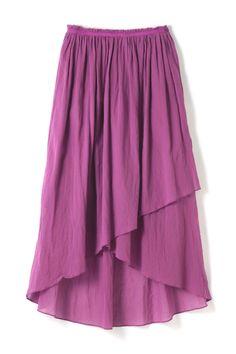【先行予約 5月上旬 入荷予定】dunadix コットンシフォンギャザースカート Skirt Fashion, Fashion Outfits, Womens Fashion, Moda Outfits, Skirt Pants, Fasion, Ballet Skirt, My Style, Tutu