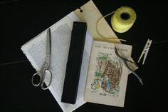 Stick-bound book tutorial