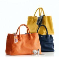 Plaid, Black Denim and a Slouch Handbag - Fancy Ashley
