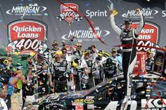 Jimmie Johnson wins quicken loans 400