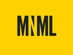 MNML is a publication that informs readers about minimalist architecture and design, aimed at 20-35 year old art lovers. It uses a minimalist design and colour palette to portray the topic, and this logo design by its creator, graphic designer Cassandra Cappello, is a brilliant use of typography and negative space.