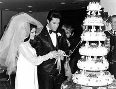 Priscilla & Elvis Presley