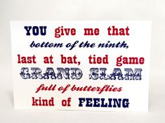 Grand Slam Baseball Theme Wedding Sign  by Bellus Designs on Etsy