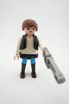 Han Solo star wars Click playmobil custom de Hartesania en Etsy