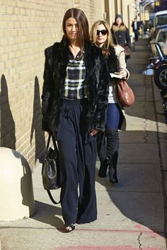 63 Winter Outfit Ideas From New York Fashion Week Fall 2013: Fashion: glamour.com