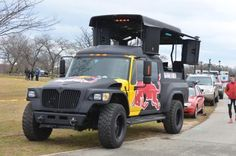 International MXT Redbull DJ Truck.